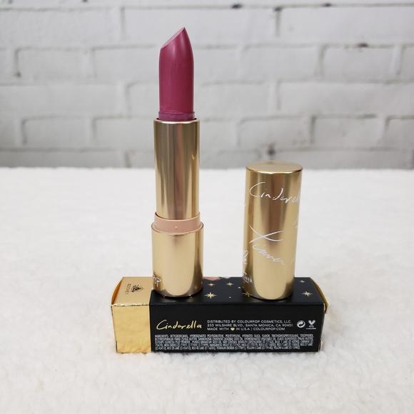 🆕️👑BNIB Colourpop Disney Lipstick Cinderella